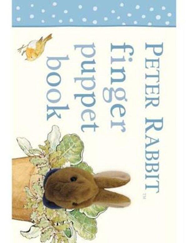 Beatrix Potter - Peter Rabbit Finger Puppet Book, Hardcover -