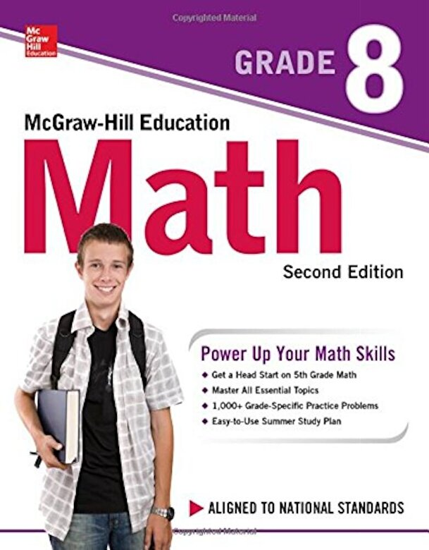 McGraw-Hill Education - McGraw-Hill Education Math Grade 8, Second Edition, Paperback -