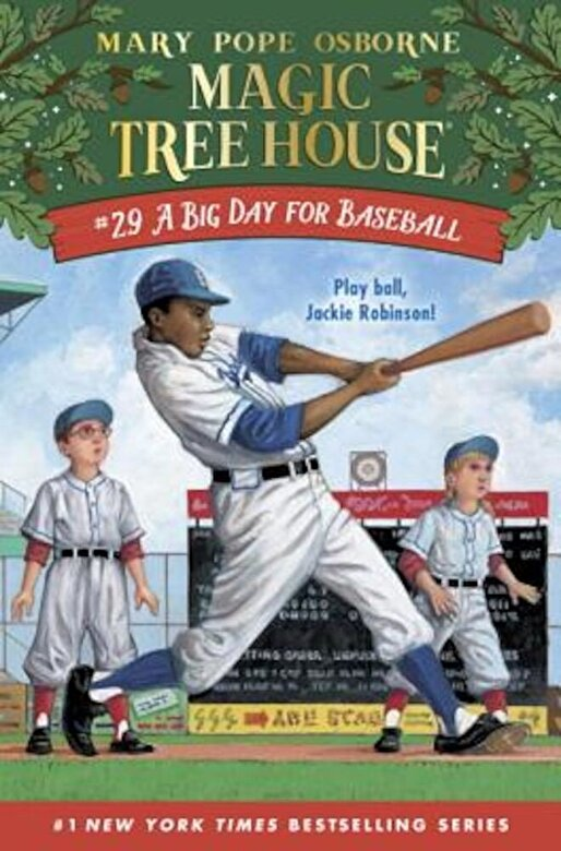 Osborne, Mary Pope - A Big Day for Baseball, Hardcover -