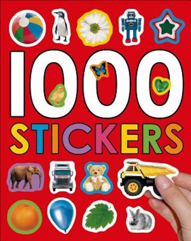 Roger Priddy - 1000 Stickers [With Stickers], Paperback -