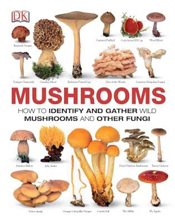 DK - Mushrooms: How to Identify and Gather Wild Mushrooms and Other Fungi, Hardcover -