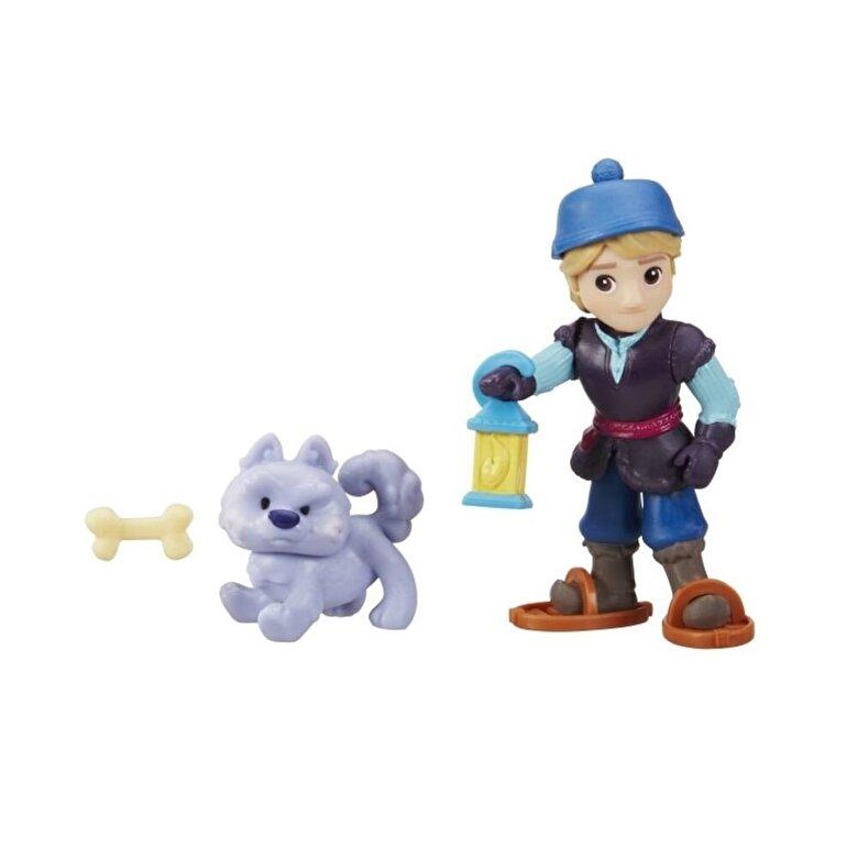 Disney - Disney Frozen - Mini papusa Kristoff, cu un prieten simpatic -