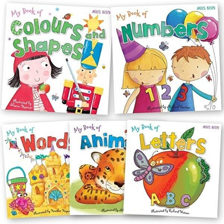 *** - C 24 My Book Of 5 Pack -