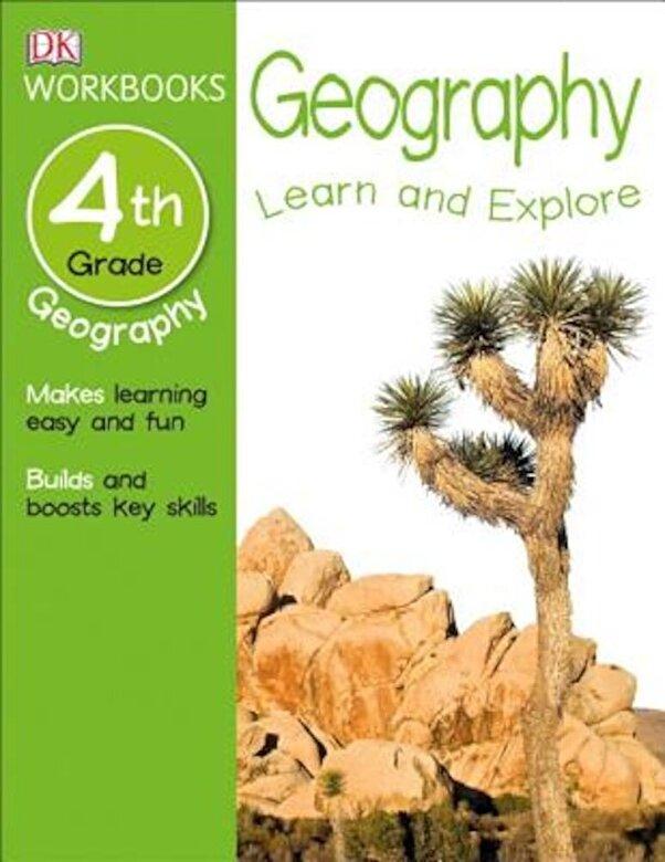 DK Publishing - DK Workbooks: Geography, Fourth Grade, Paperback -