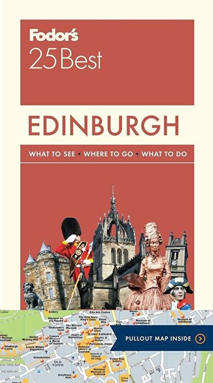 Fodor's Travel Guides - Fodor's Edinburgh 25 Best, Paperback -