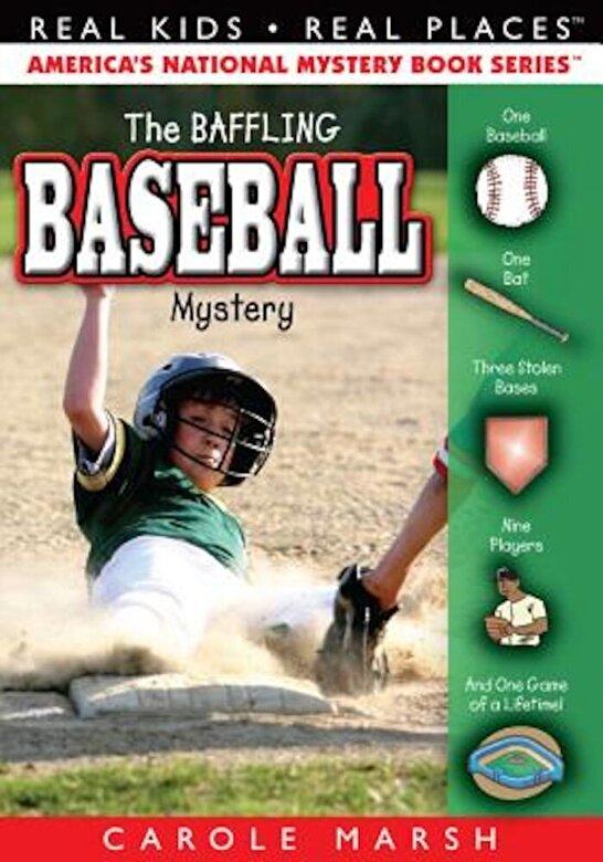 Carole Marsh - The Baseball Mystery, Paperback -