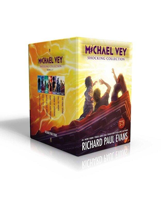 Richard Paul Evans - Michael Vey Shocking Collection Books 1-7: Michael Vey, Michael Vey 2, Michael Vey 3, Michael Vey 4, Michael Vey 5, Michael Vey 6, Michael Vey 7, Hardcover -