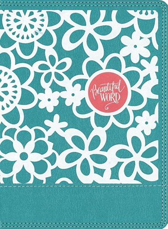Zondervan - NIV Beautiful Word Coloring Bible for Girls, Hardcover, Teal: Hundreds of Verses to Color, Hardcover -