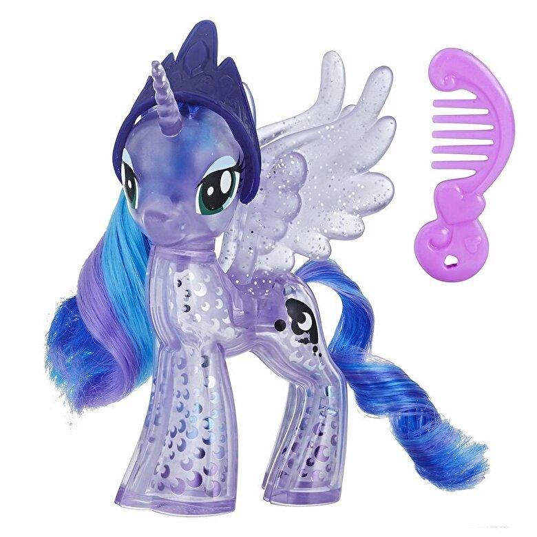 My Little Pony - My Little Pony, Figurina ponei cu aplicatii stralucitoare Luna -