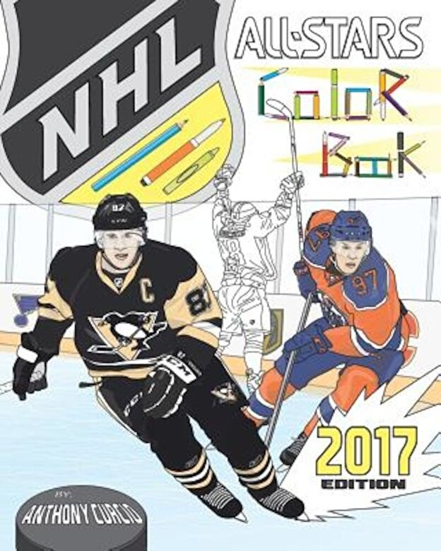 Anthony Curcio - NHL All Stars 2017: Hockey Coloring and Activity Book for Adults and Kids: Feat. Crosby, Ovechkin, Toews, Price, Stamkos, Tavares, Subban, Paperback -