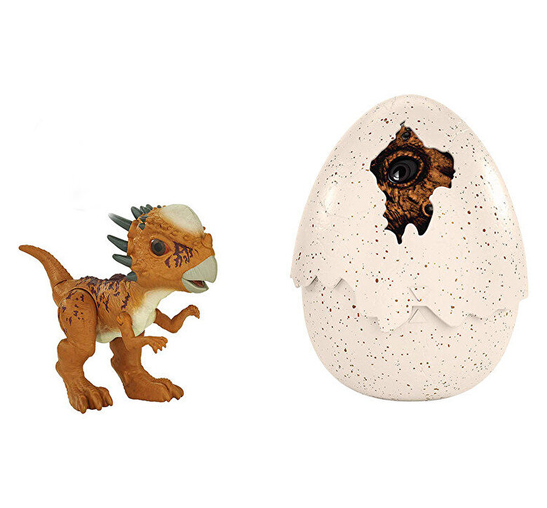 Mattel - Figurina Jurassic World Hatchlings Stygimoloch Stiggy in ou -