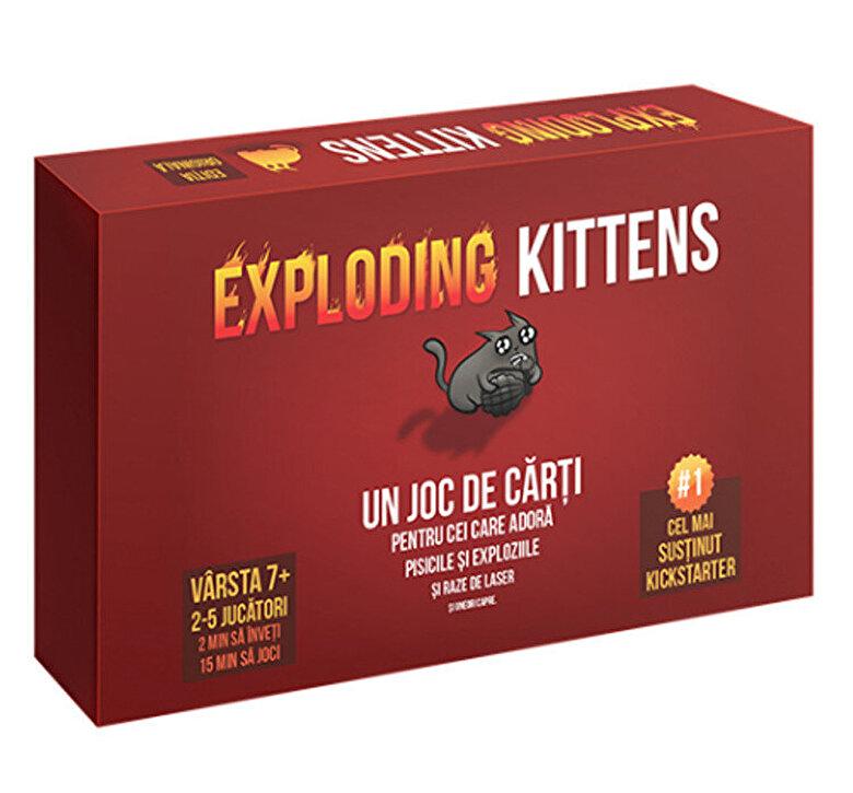 Lex Games - Joc Exploding Kittens -