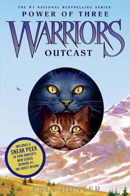 Erin Hunter - Warriors: Power of Three #3: Outcast, Hardcover -