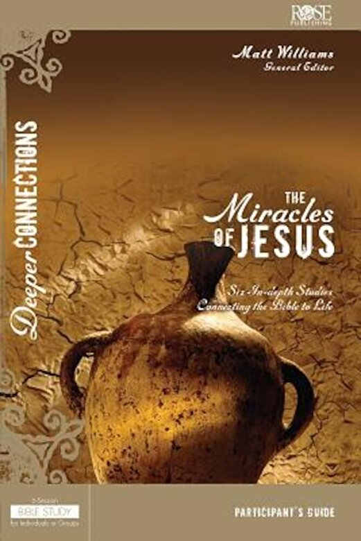 *** - The Miracles of Jesus Participant Guide, Paperback -