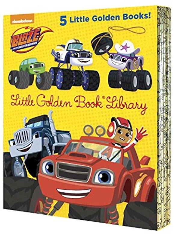 Various - Blaze and the Monster Machines Little Golden Book Library, Hardcover -