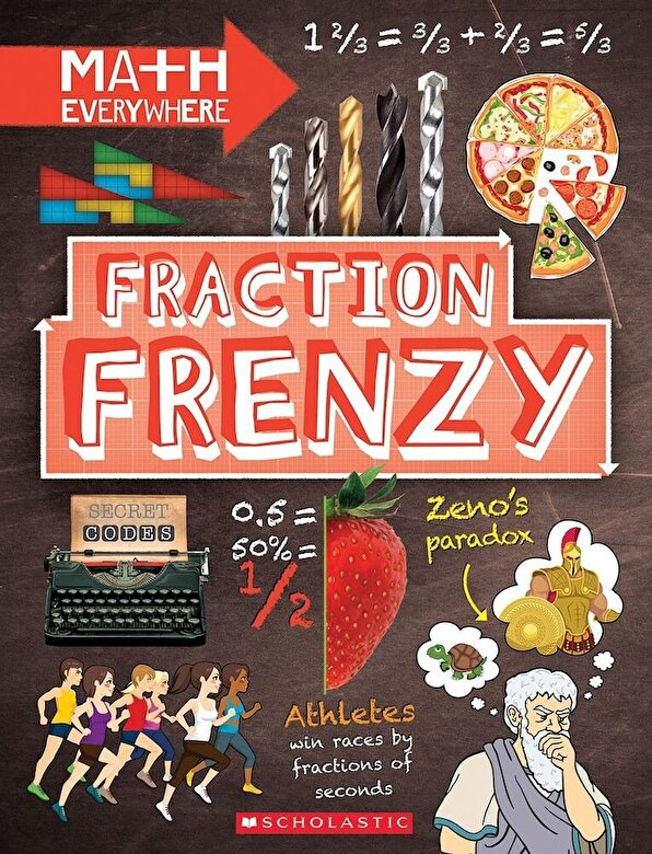Rob Colson - Fraction Frenzy: Fractions and Decimals, Hardcover -