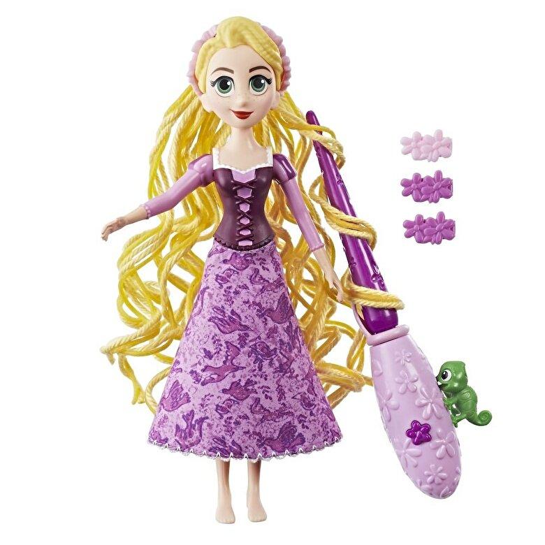 Disney - Disney Princess - Papusa Rapunzel, cu accesorii de coafat -