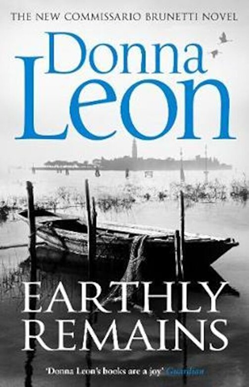 Donna Leon - Earthly Remains, Paperback -