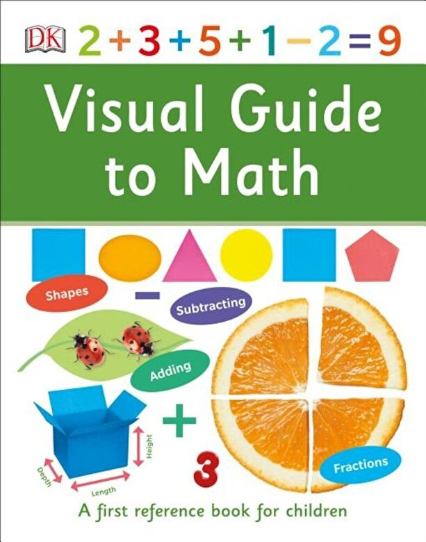 DK - Visual Guide to Math, Hardcover -
