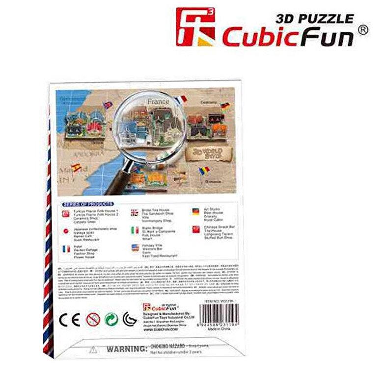CubicFun - Puzzle 3D - Magazin vestimentar, 31 piese -