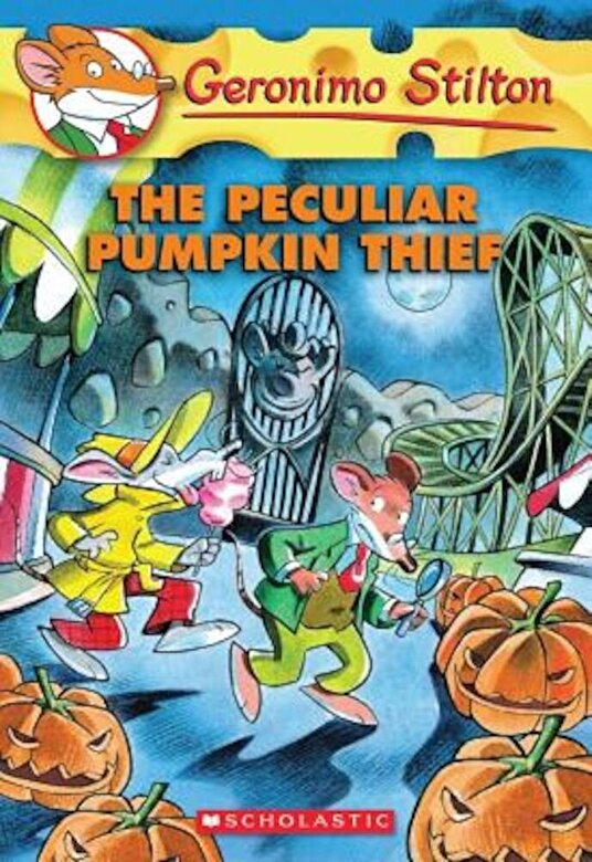 Geronimo Stilton - The Peculiar Pumpkin Thief, Paperback -