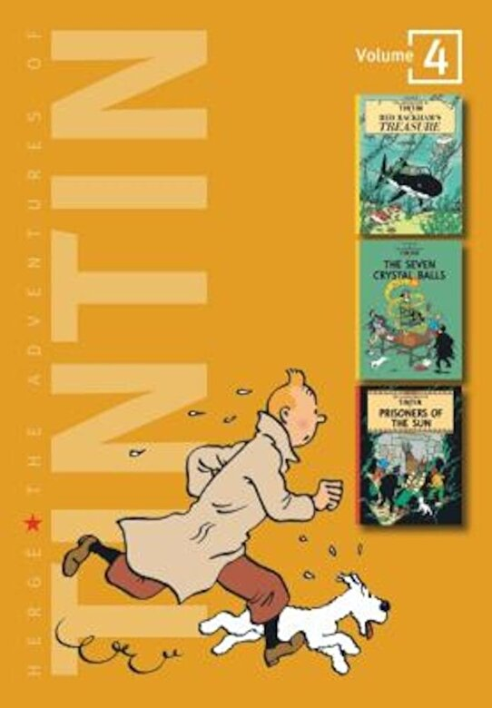Hergae - The Adventures of Tintin: Volume 4, Hardcover -