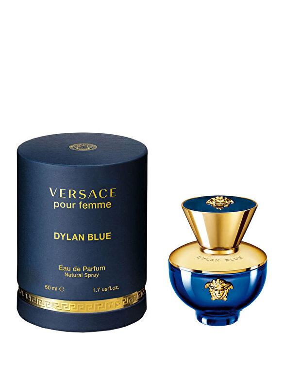 Versace - Apa de parfum Versace Dylan Blue pour femme, 50 ml, Pentru Femei - Incolor