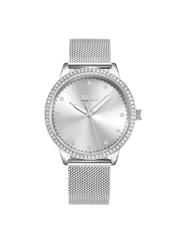 So & Co New York - Ceas So & Co New York 5514.1 - Argintiu