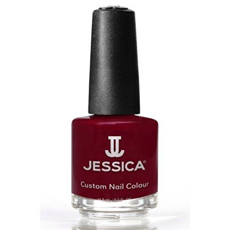 Jessica Cosmetics - Lac de unghii, Winter Berries 222, 148 ml - Rosu sangeriu