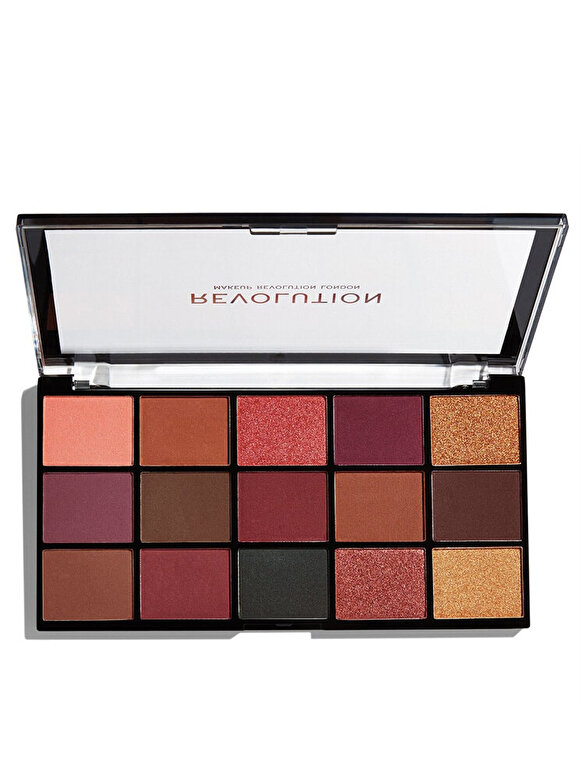 Makeup Revolution London - Paleta farduri de pleoape Makeup Revolution Re-loaded Newtrals 3 - Incolor