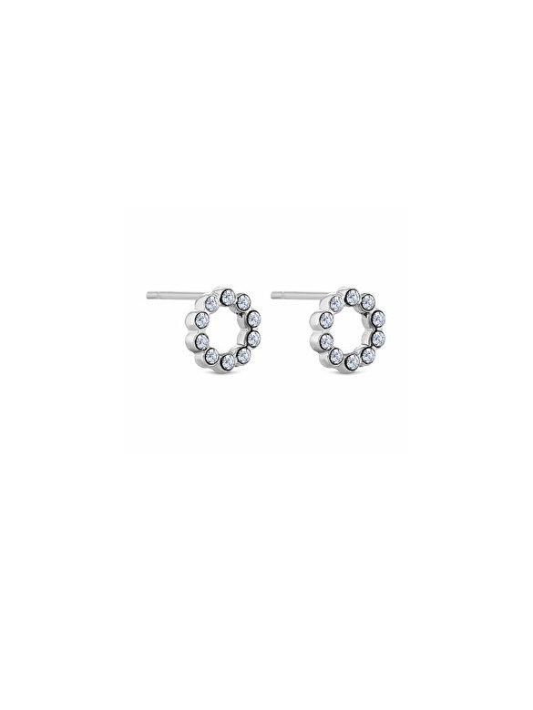 Diamond Style - Cercei Diamond Style MINICIRCLEEARR - Argintiu