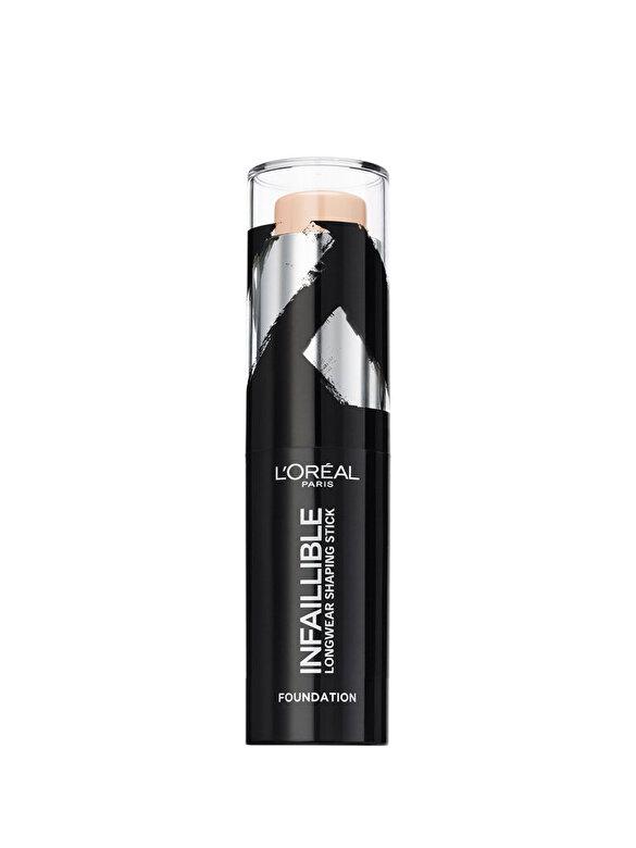 L Oreal Paris - Fond de ten stick L'Oreal Paris Infaillible Shaping Stick 130 Vanilla - 9g - Incolor