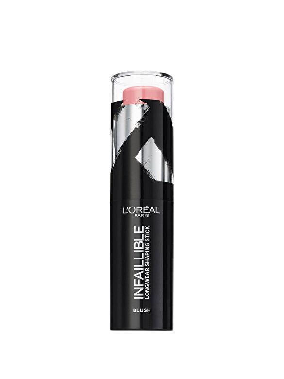 L Oreal Paris - Fard de obraz stick L'Oreal Paris Infaillible Shaping Stick 001 Sexy Flush - 9g - Incolor