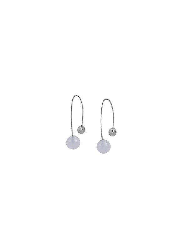 Skagen - Cercei Skagen Sea Glass SKJ0843040 - Argintiu
