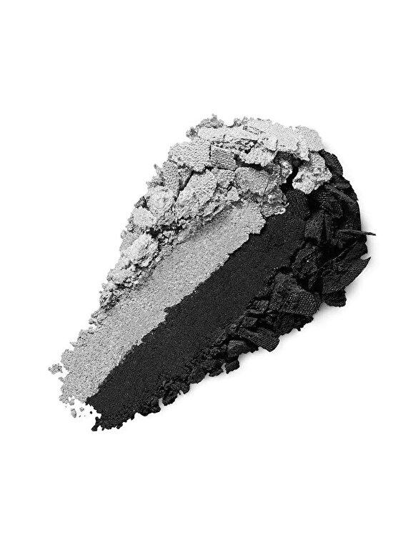 Kiko Milano - Fard de pleoape Bright Duo Baked, 24 Pearly Silver - Matte Black - Incolor