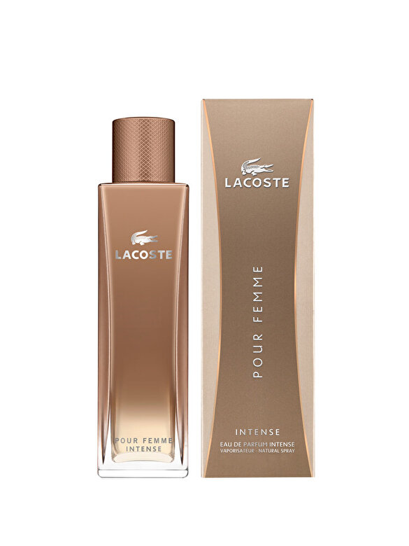 Lacoste - Apa de parfum Lacoste Pour Femme Intense, 90 ml, pentru femei - Incolor