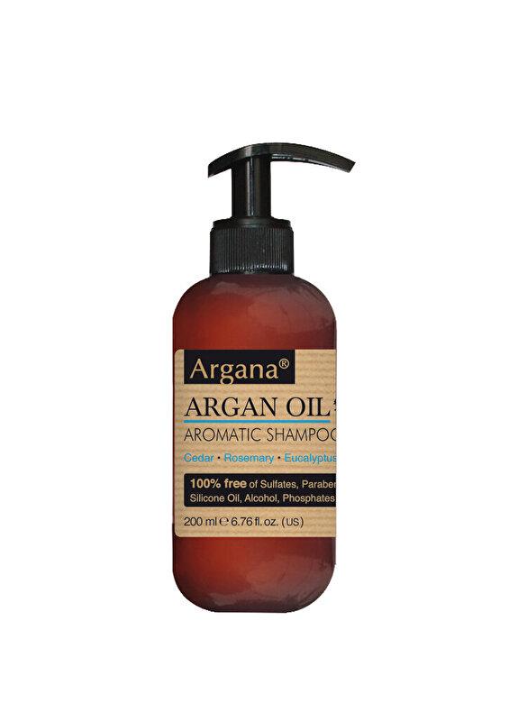 AZBANE - Sampon pentru par cu ulei de argan, Argana, 200 ml - Incolor
