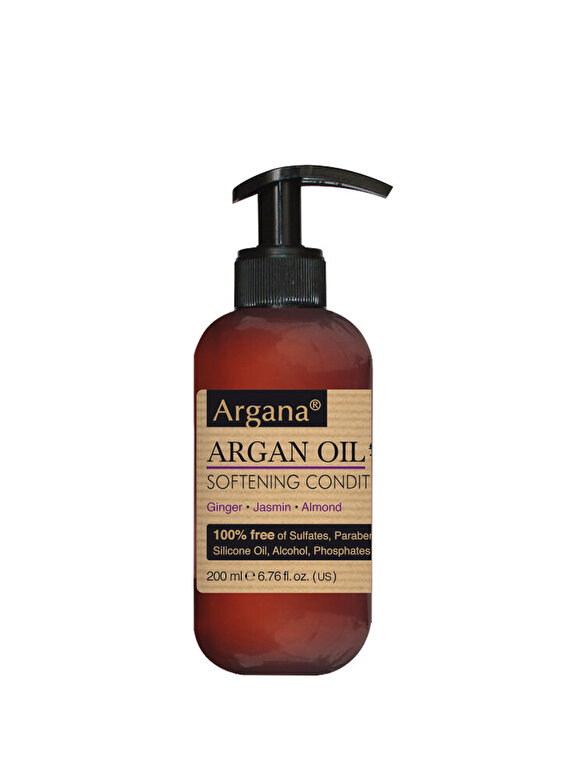 AZBANE - Balsam pentru par cu ulei de argan, Argana, 200 ml - Incolor