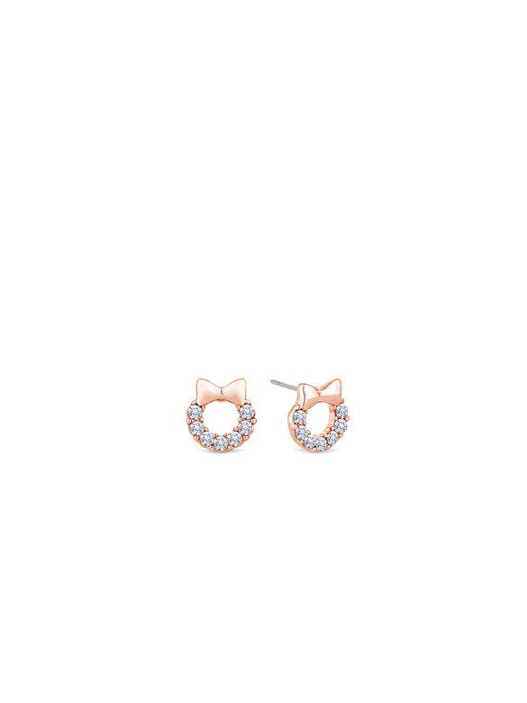 Diamond Style - Cercei Diamond Style WREATHSTUDROSE - Auriu Rose