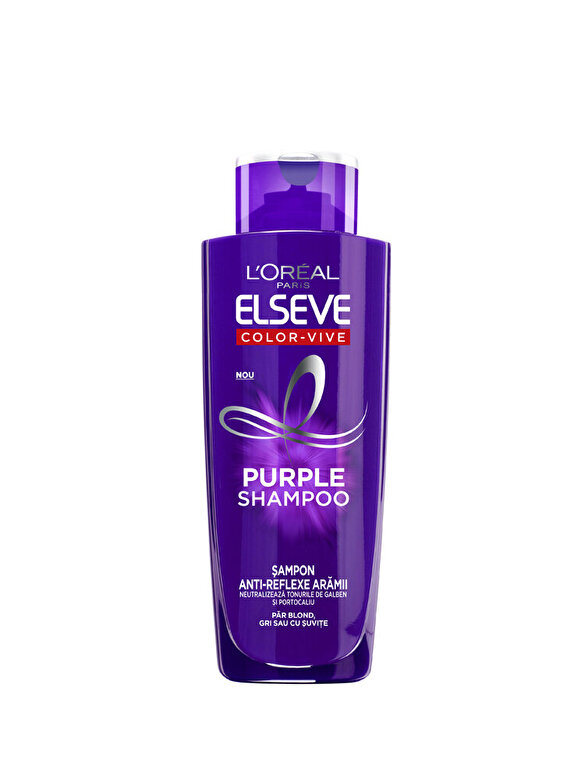 Elseve - Sampon nuantator gri Color-Vive Purple Shampoo 200ml - Incolor