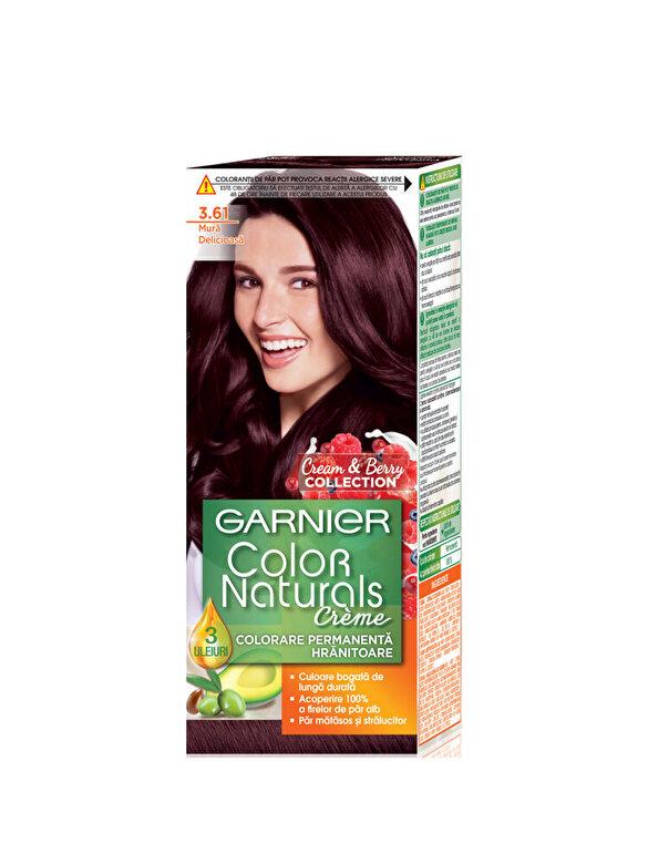 Garnier Color Naturals - Vopsea de par permanenta Garnier Color Naturals 3.61 Mura Delicioasa 110 ml - Incolor