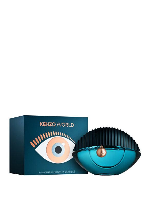 Kenzo - Apa de parfum World Intense, 75 ml, pentru femei - Incolor