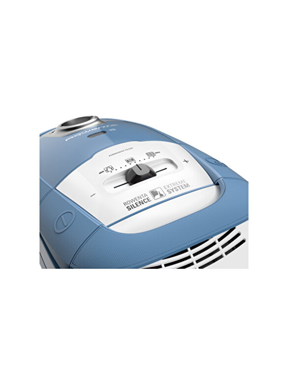 Rowenta - Aspirator cu sac Rowenta Silence Force, 4A+, RO7321EA, 4.5 L, 450 W, Albastru - Albastru