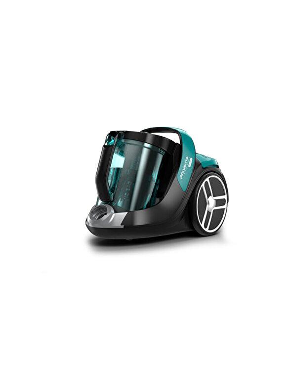 Rowenta - Aspirator fara sac Rowenta X-Trem  Power, 4A+, RO7262EA, 72 dB(A), 550 W, Verde - Turcoaz