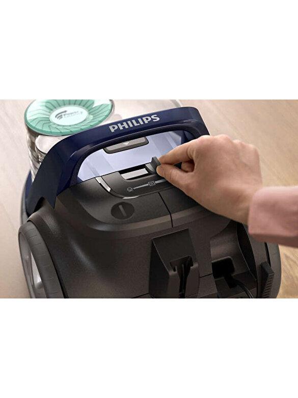Philips - Aspirator fara sac, Philips, 650 W, PowerCyclone 7, 1.5 L, FC9552/09, Albastru - Albastru