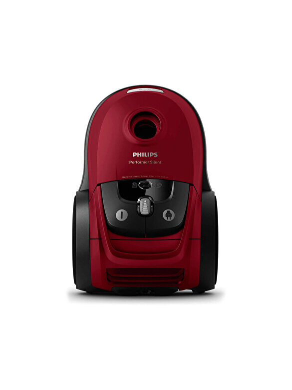 Philips - Aspirator cu sac, Philips, Perfomer Silent, 650 W, 4 L, FC8781/09, Rosu - Rosu