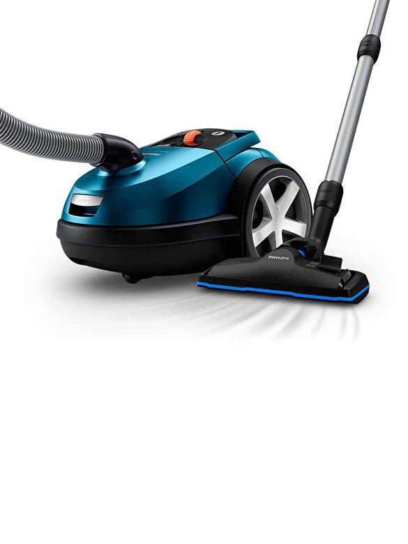 Philips - Aspirator cu sac, Philips, Perfomer Silent,650 W, Clasa A+, 4 L, FC8783/09, Albastru - Albastru