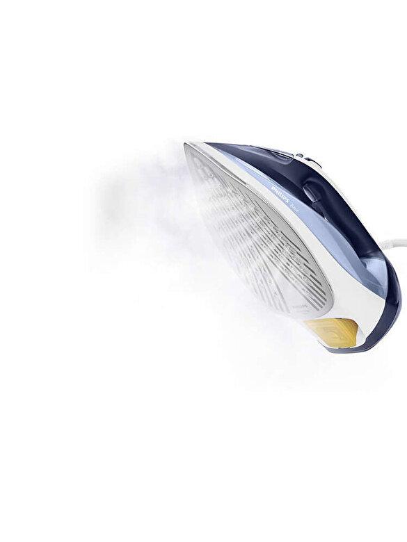 Philips - Fier de calcat cu abur, Philips, SteamGlide Plus, 2500 W, 50 g/min, GC4556/20, Albastru - Albastru