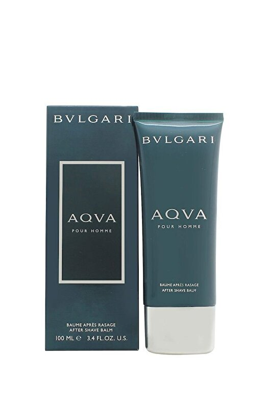 Bvlgari - After shave balsam Aqva Pour Homme, 100 ml, pentru barbati - Incolor