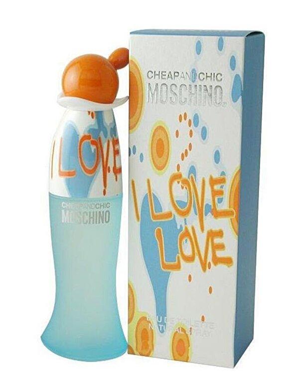 Moschino - Deospray I love love, 50 ml, Pentru Femei - Incolor